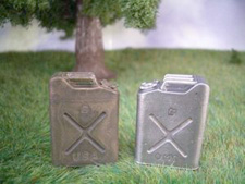 1/16 US Army metal Jerry Can with Stamping