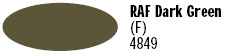 Model Master Flat RAF Dark Green Acryl Paint