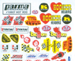 Parma Hot Rod Decals
