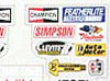 Parma Stock Car Decals