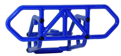 RPM Rear Bumper for the Traxxas Slash 4x4, Blue