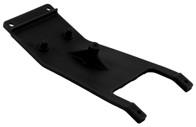 RPM Slash 2WD Front Skid Plates, Black