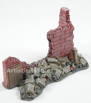 VsTank Pro Ruined Building Scenery A