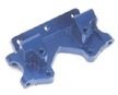 Aluminum Front Bulkhead for Stampede/Rustler/Bandit/Slash 2WD only (Blue)