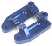 Aluminum Caster Blocks for Stampede/Rustler/Slash 2WD (Blue)