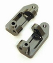Aluminum Caster Blocks for Stampede/Rustler/Slash 2WD (Gun Metal)