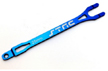 Aluminum CNC Machined Pro Racing Battery Strap for Traxxas Slash (Blue)
