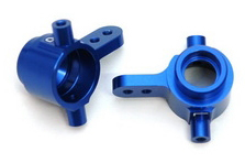 Aluminum Steering Knuckles for Slash 4x4 (Blue)