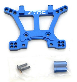 Aluminum HD Front Shock Tower (Blue) for Slash 4x4