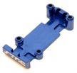 ST Racing Concepts - Aluminum Rear Skid Plate set (Blue) for 1/16 E-Revo