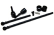 ST Racing Concepts - Front Heat Treated Carbon Steel Universal kit for Axial Wraith (1 pair) Black