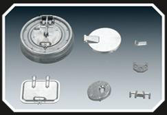 1/16 Taigen Metal Turret Hatches for Tiger I Early Tanks