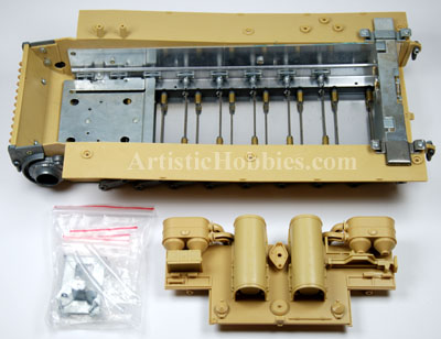 1/16 Taigen Metal Lower Chassis for Tiger I Tanks.
