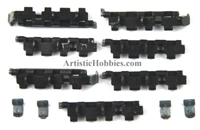 1/16 Taigen Tiger I Metal Spare Tracks for Tank Hull or Turret