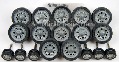 1/16 Taigen Metal Road Wheels for Panzer III and Sturm III