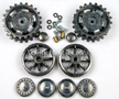 1/16 Taigen Metal Front Drive and Rear Idler Wheels for Panzer III and Sturm III