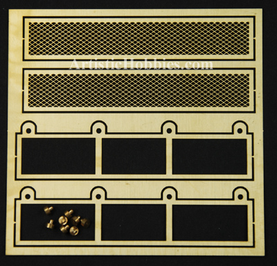 1/16 Taigen Photo Etch Grill Set for Panzer III and Sturm III