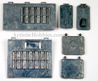 1/16 Taigen Metal Hatch Set for the Panzer IV