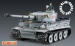 1/16 Taigen IR Tiger I RC Tank, Metal Early version