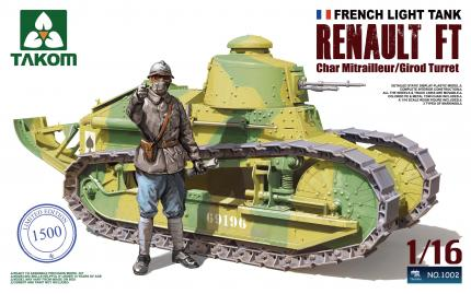 1/16 Renault FT-17 French Light Tank Model