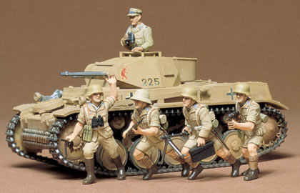 1/35 German Pzkpfw II Model Kit