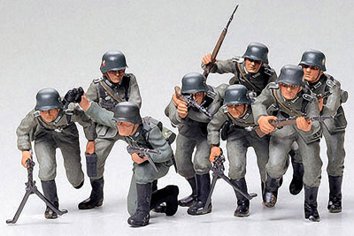 1/35 German Assault Troops Model Kit