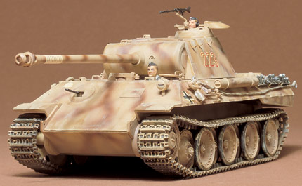 1/35 German Panther Med Tank Model Kit