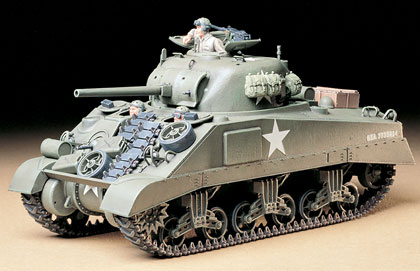 1/35 U.S. Medium Tank M4 Sherman, Early Production