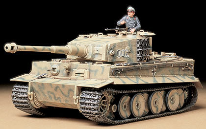 1/35 German Tiger I Mid Production Model Tank Kit