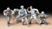 1/35 German Front Line Infantrymen Model Kit