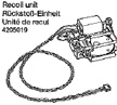 Tamiya 1/16 RC Tank Recoil Unit - 56010
