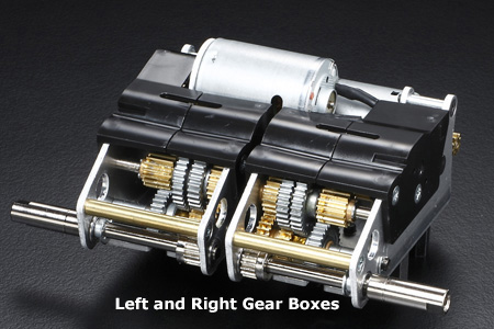 Tamiya 1/16 KV-1 and KV-2 Right Gearbox