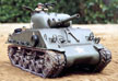 Tamiya 1/16 M4 Sherman 105mm Howitzer - Full Option RC Tank Model Kit