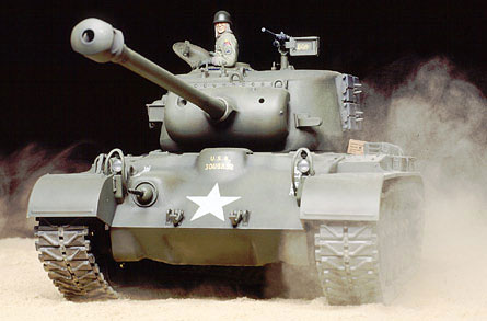 Tamiya 1/16 U.S. M26 Pershing T26E3 - Full Option RC Tank Model Kit