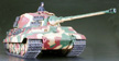Tamiya 1/16 German King Tiger Production Turret - Full Option RC Tank Model Kit