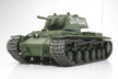 Tamiya 1/16 Russian Heavy Tank KV-1 - Full Option RC Tank Model Kit