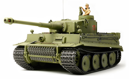 Tamiya 1/16 Tiger I Early Production - Full Option RC Tank
