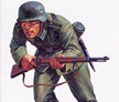 1/25 German Panzer Grenadier Metal Model Kit