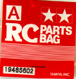 Tamiya 1/16 Screw Bag A 56018 King Tiger