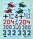 1/16 Decals for German King Tiger Tank