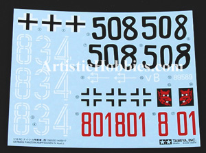 1/16 Decals for Panzer IV