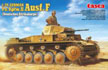 1/24 German Panzer II Ausf. F Deutsches Afrika Korps Model Tank Kit