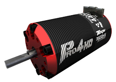 Tekin Pro4 HD 4-Pole 3,500KV Brushless 550 Motor with 5mm Shaft
