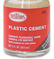 Testors Liquid Cement for Plastic Models 1 oz