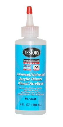 A - Testors Acrylic Thinner 4 oz.