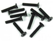 Tekno M3 X 16mm Flat Head Screws