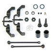 Tekno Rear M6 Driveshafts and Hub Carriers 6mm for Slash and Stampede 4x4