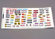 Racing Sponsors decal sheet