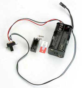 Traxxas Battery Holder with On/Off Switch