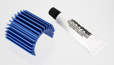 Traxxas Blue Heat Sink for Velineon 380 Motors
